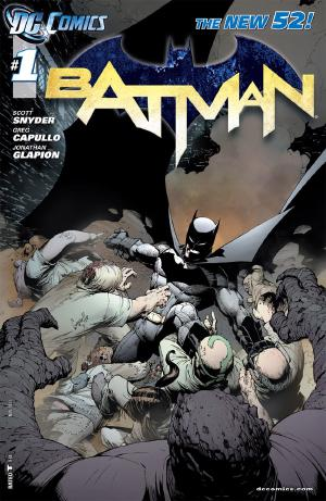 Batman #1 cover by Greg Capullo
