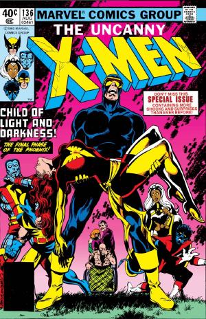 Uncanny X-Men #136 (1980) and Crisis on Infinite Earths #7 (1985). I only now realized how similar these covers were