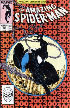 It's Spider-Man week on ireadcomicbooks! Here's the famous Amazing Spider-Man #300 cover by the amazing Todd McFarlane!
