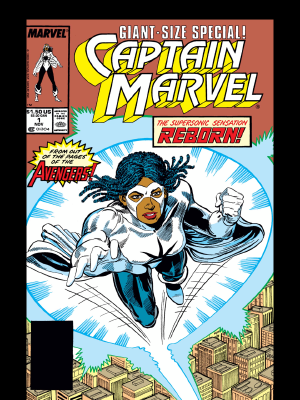 Captain Marvel (1989) #1 featuring Monica Rambeau as Captain Marvel. Will we see her with powers in the second Captain Marvel movie?