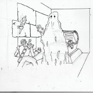#inktober2019 day 22: ghost #inktober #sketchdaily