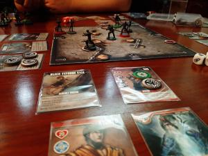 #boardgames night! Bargain Quest and Street Masters