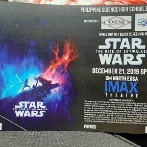 Time to go watch a star war!