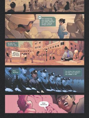 Far Sector #5 #BlackLivesMattters #comics