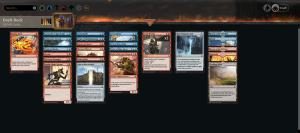 Late afternoon Amonkhet draft! (ep2) https://www.twitch.tv/twitchyroy #mtg #magicarena #twitch #mtgakr 2nd draft went better than the first! Really wish I had gotten to 7 though. Here's the VOD: https://www.youtube.com/watch?v=PVkmiPNcqt0 Also attaching deck screenshots from draft1 (UR, no scarab god, 1-3) and draft2 (UR, with scarab god, 5-3)