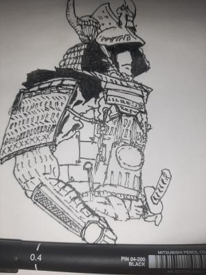 Inktober 2020 Day 14: Armor
