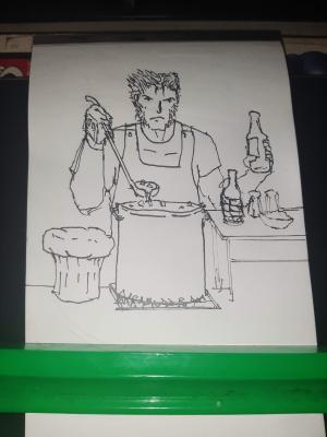 Inktober 2020 Day 22: Chef