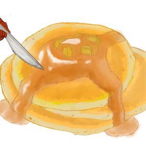 Pancakes! 5/365 #sketchdaily
