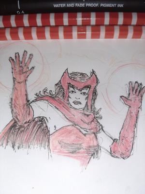 Wanda #sketchdaily 15/365