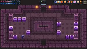 An example of a hint for a switch puzzle room, found by moving blocks around.