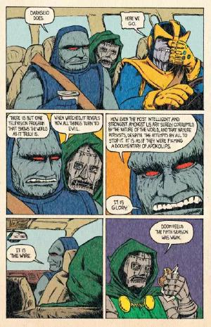 now that people know who both thanos and darkseid are, it's time to bring back the greatest parody comic of all time