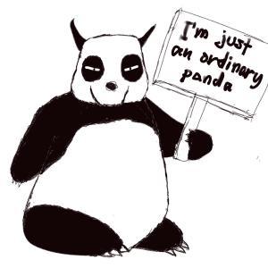 Just a panda #sketchdaily 84/365