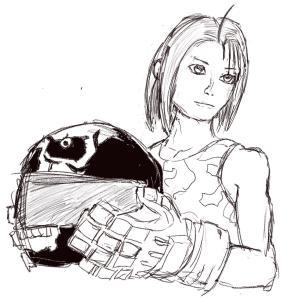 Akira Kazama #sketchdaily 96/365