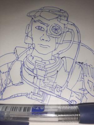 Borg #sketchdaily 97/365