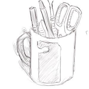 Mug #sketchdaily 100/365