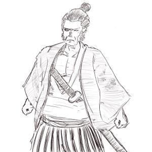 Kimono #sketchdaily 101/365