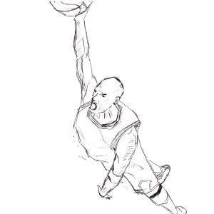 Slam dunk #sketchdaily 103/365