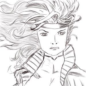 Hair practice #sketchdaily 106/365