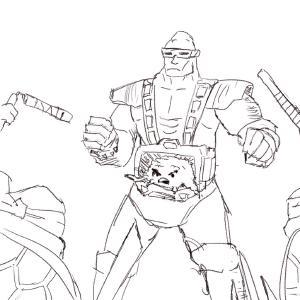 Krang #sketchdaily 109/365