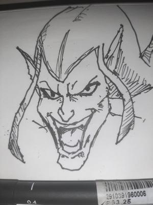 Green goblin #sketchdaily 120/365