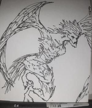 Harpy #sketchdaily 121/365