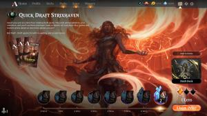 Wednesday evening Strixhaven quick drafts! https://www.twitch.tv/twitchyroy #mtg #magicarena #twitch #mtgstrixhaven Two quick drafts today! Finally managed to get 7 wins in quick draft by forcing silverquill aggro! Well, maybe the Lightscribe helped a lot! YT: https://www.youtube.com/watch?v=GldXRNMt6Eg