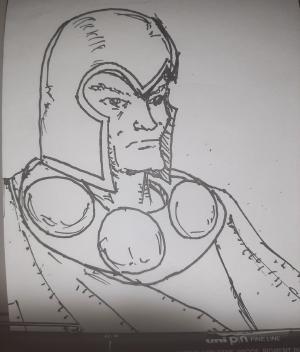 Magnus #sketchdaily 126/365
