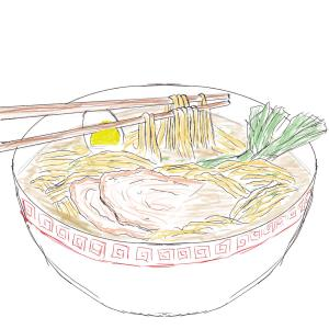 Noodles #sketchdaily 127/365