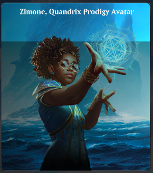 The character Zimone from #mtg Strixhaven reminds me of Kasie from NCIS
