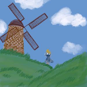 Windmill #sketchdaily 159/365