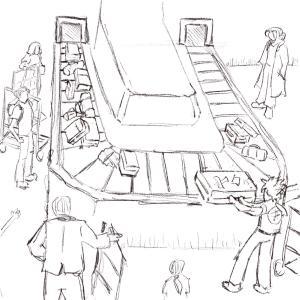 Baggage #sketchdaily 175/365