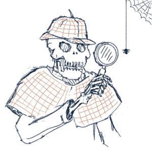 Sherlock Bones: Dungeon Detective #sketchdaily 191/365