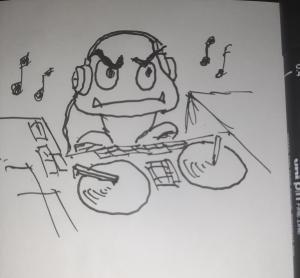 DJ Goomba #sketchdaily 192/365