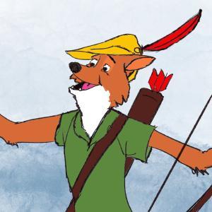 Robin Hood #sketchdaily 193/365