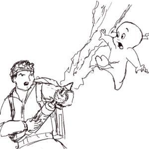Capturing Casper #sketchdaily 195/365