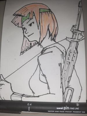 Sami #sketchdaily 197/365