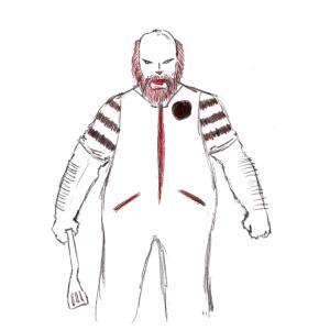 Old Man McDonald #sketchdaily 212/365