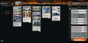 Managed to clear the #mtgarena Standard Open in just under an hour using @urlichmtg 's Monowhite Book list. Wasted a bunch of gems though, since I had a first run that was plagued by network issues on my end. Still, looking forward to day 2! PHOTOS PLACEHOLDER [2021-08-02 02:06] Unfortunately, day 2 didn't go quite as well. Finished day 2 at 5-2, just short of cash prizes! Such is life. Deck was a great choice though!